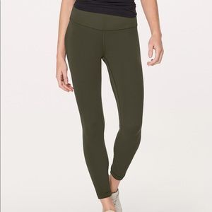 lululemon athletica Pants - Lululemon Align Pant II Dark Olive 4